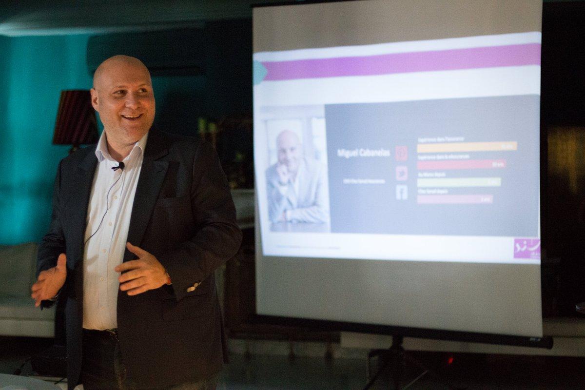 #Live #DigitalTalks: c'est au tour de Mr.Miguel Cabanelas, directeur du département Digital chez Sanad Assurances, qui nous a fait part de l'évolution de l'assurance digitale au Maroc, et de la génération et conversion des Leads dans le domaine d'assurance.