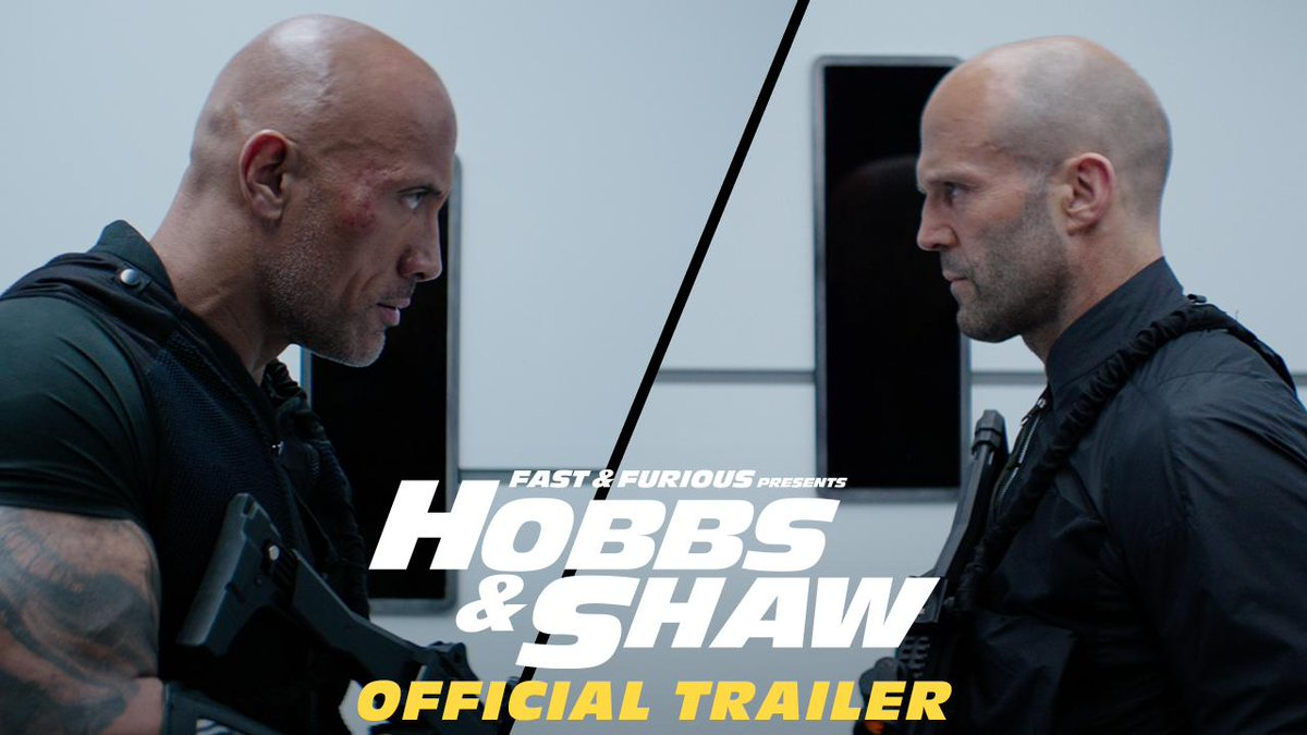 The Big Dog @WWERomanReigns is officially featured alongside @TheRock in the @FastFurious spinoff @HobbsAndShaw and we can't wait!
