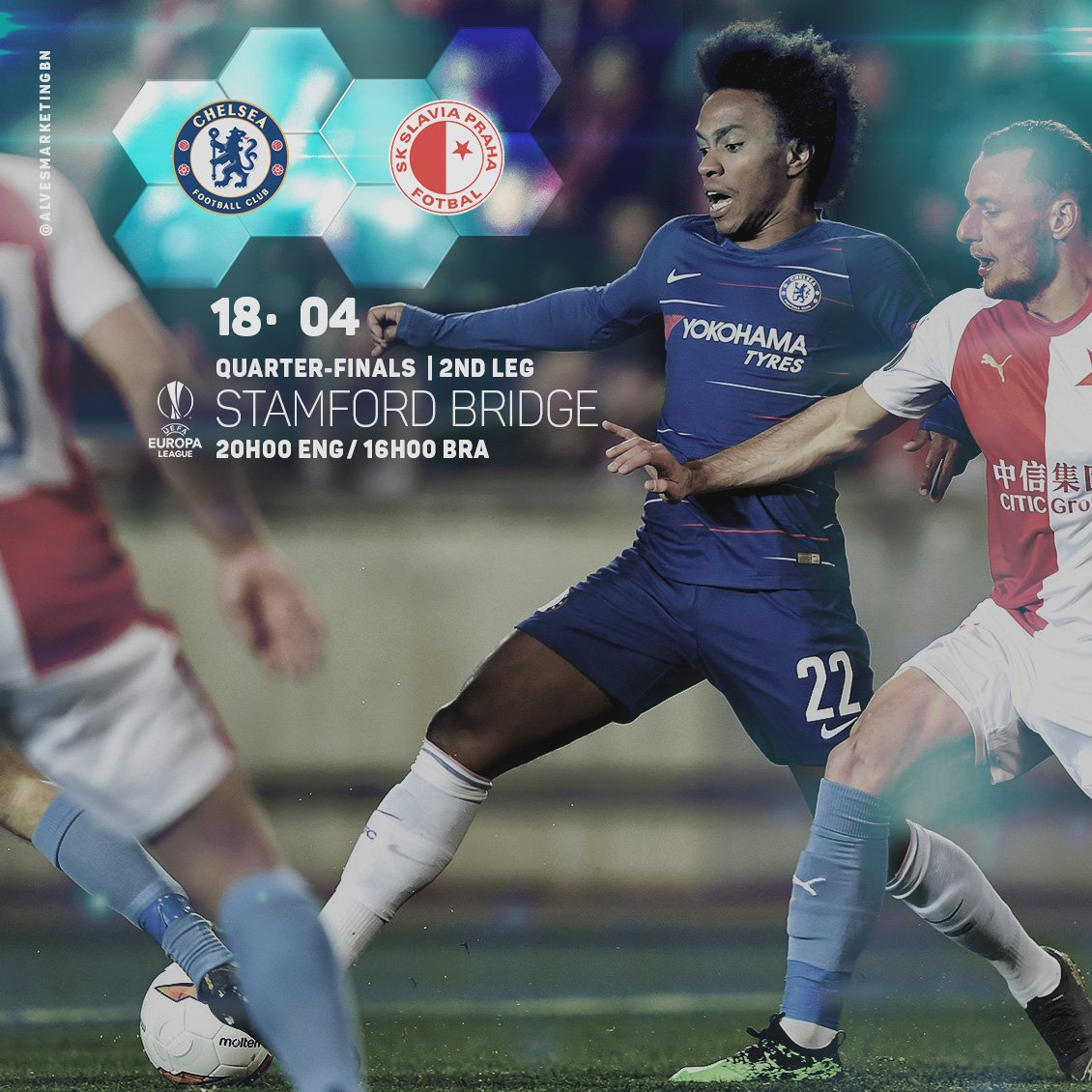 Willian's photo on #EuropaLeague