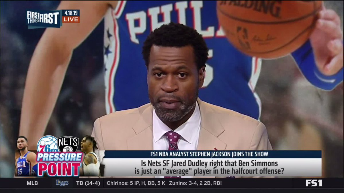 """""""The truth sounds like hate to people who hate the truth. It's just the truth: Ben Simmons is not a good half court player. He can't shoot, he won't even shoot it. Jared Dudley is dead on."""" — @DaTrillStak5"""