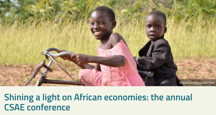 test Twitter Media - How do African economy updates presented during #OxCSAE2019 link up to INCLUDE's knowledge agenda? We highlight a few based on @DaveEvansPhD summary list for @CGDev: https://t.co/fUXZaUSqcX https://t.co/DndBU9D8Iw