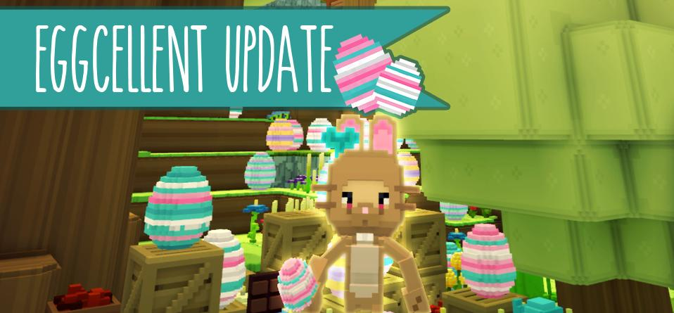 Happy Easter everyone! It's been one week since we launched Staxel and we're so grateful to our amazing community (including all you new players!) for making it happen! Now hop to it, those eggs won't be around forever! https://steamcommunity.com/games/405710/announcements/detail/1636405351606757193…