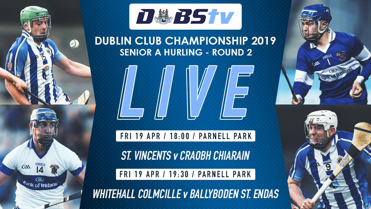 test Twitter Media - Don't forget to tune into DubsTV this evening to catch the Dublin SHC A doubleheader live from Parnell Park! #DSHCA DubsTV: https://t.co/yJ8IGURtUZ https://t.co/ir5c57NsWa