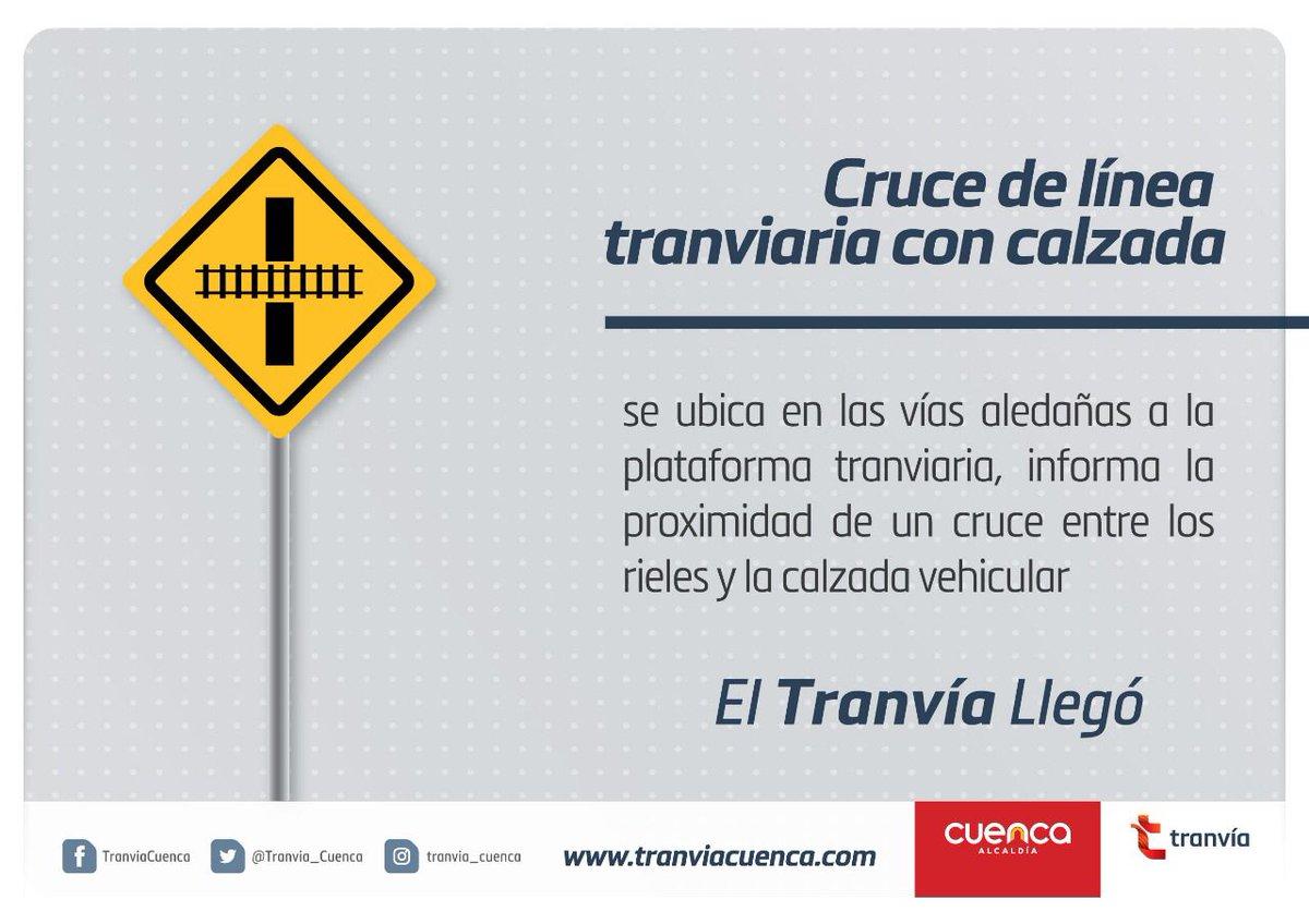 #ElTranviaLlego 🚊   ¿Sabes qué es el Cruce de Línea Tranviaria con Calzada?   Aquí 👇🏻 te lo mostramos.   #TrabajamosEnPrevención
