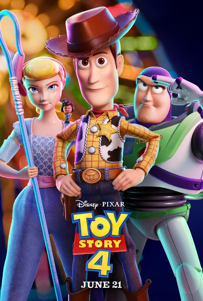 Here&#39;s the new Toy Story 4 poster. <br>http://pic.twitter.com/b8cUh0kZPi