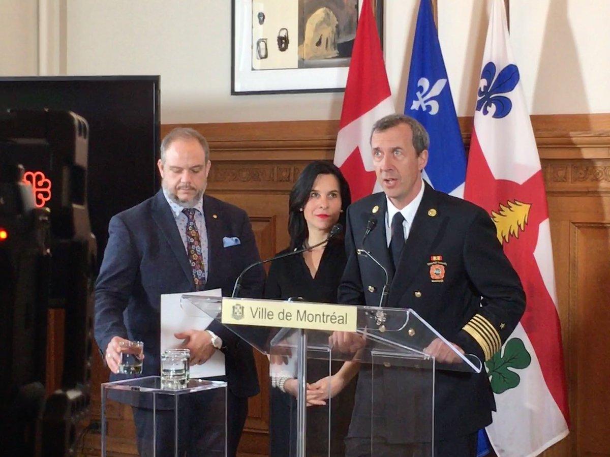 #Inondations: «Le pire est à venir mais les services de la Ville sont prêts» -chef du @MTL_SIM Bruno Lachance explique que Montréal est passé du mode veille au mode intervention avec plus d'effectifs sur le terrain #polmtl