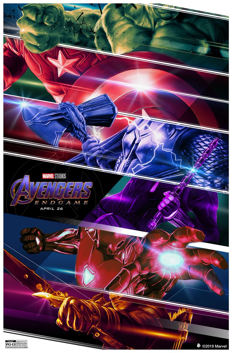 Here's your look at the Marvel Studios' #AvengersEndgame  inspired poster by artist @Turksworks<br>http://pic.twitter.com/imMZzZRQrQ