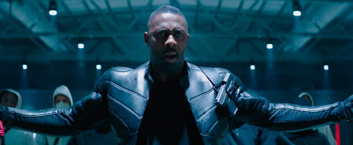 Idris Elba as Brixton in Hobbs & Shaw