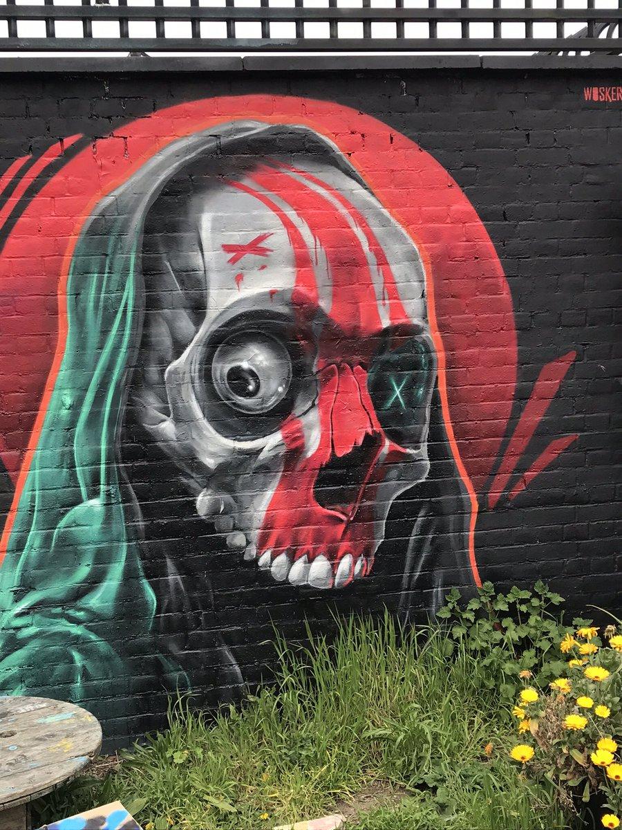 RT @lovestreetart22: Great work by Woskerski in the Nomadic Gardens. #StreetArt #Woskerski #BrickLane #graffitiart https://t.co/QQTyZhoAEt