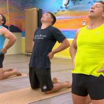 Fletch and Hindy's hilarious Bikram yoga session with Rooster Radley: https://t.co/YsTNv9yoBb