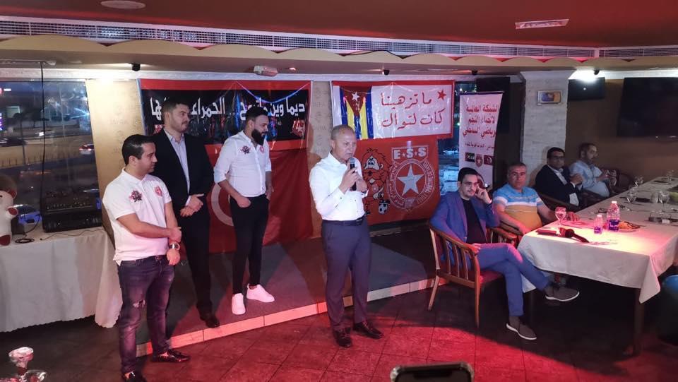 Etoile du Sahel president officially opened Etoile du Sahel fan club in Dubai on Tuesday.This is the 83rd Etoile du Sahel supporters club across the world.