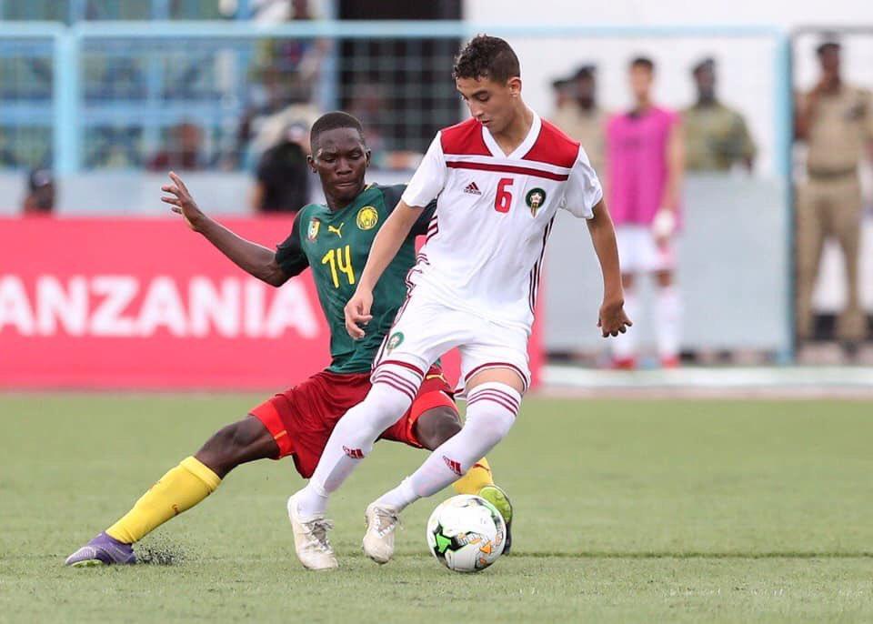 Les #LionsU17 se qualifient par la même occasion pour la phase finale de la Coupe du Monde U17 qui se jouera au Brésil.  #CMRMAR