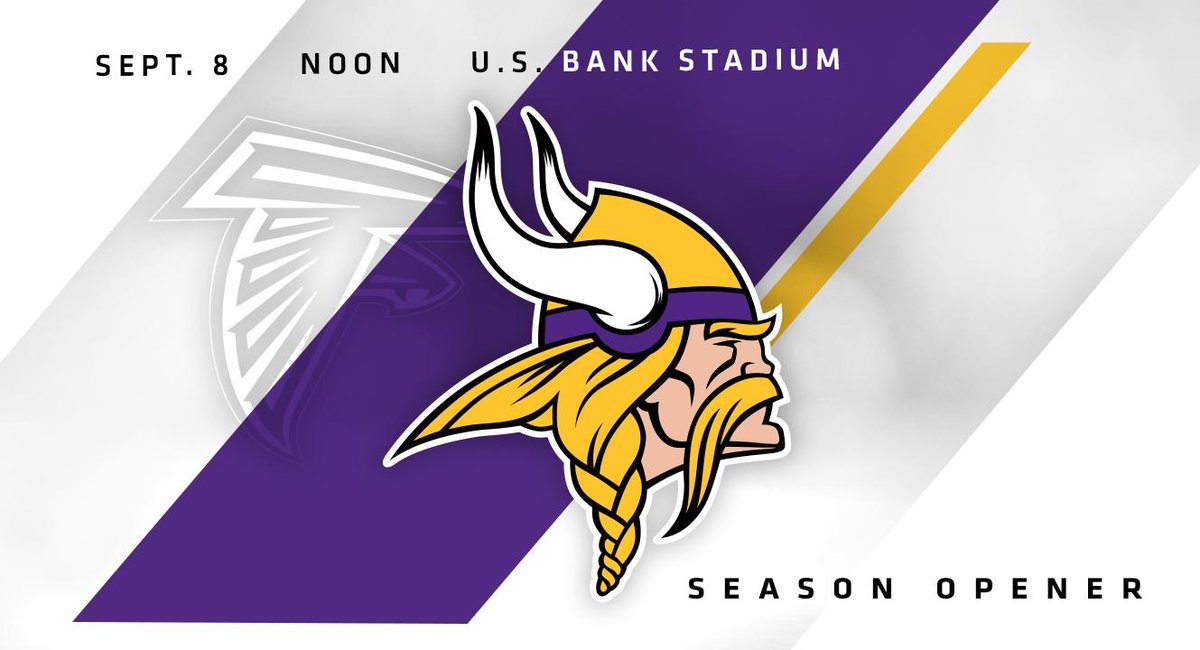 Counting down the days until September 8. #Skol