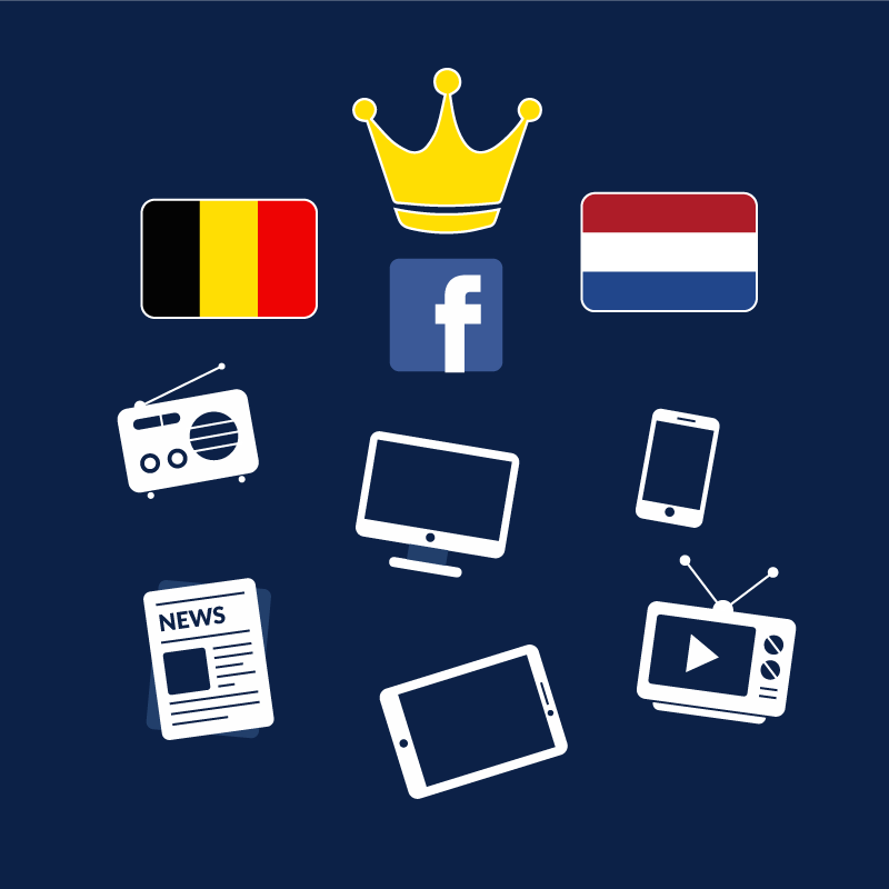 🔎#AuxipressStudy🔎 #DidYouKnow : #Facebook is the most mentioned brand in the Belgian and Dutch media. Click here: https://bit.ly/2GsIC3i to see the #Top10 most mediatized brands !  #MediaMonitoring #DataAnalysis #Analyses #MediaCoverage