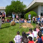 Planting seeds of greatness!🌱Yesterday, more than 80 pre-k and kindergarteners at Shadybrook Elementary learned the importance of trees from HPU's Campus Enhancement Team, who planted a Purple Leaf Plum in front of the school as an Arbor Day tradition.🌲#OurCityOurUniversity