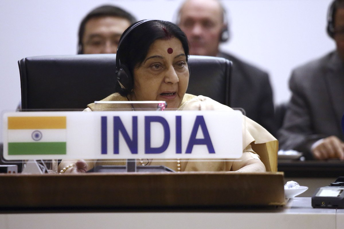 No Pakistan soldier or citizen died in Balakot air strike: Sushma Swaraj http://toi.in/QpqcSb64