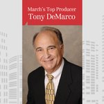 Image for the Tweet beginning: Congratulations to Tony DeMarco for