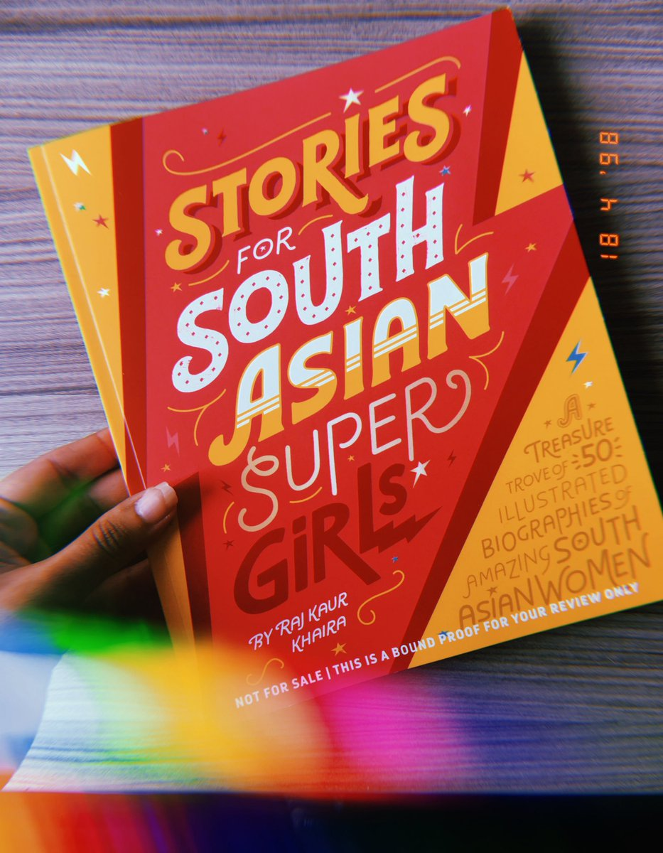 A Treasure Trove of 50 Illustrated Biographies of Amazing South Asian Women Stories for South Asian Supergirls