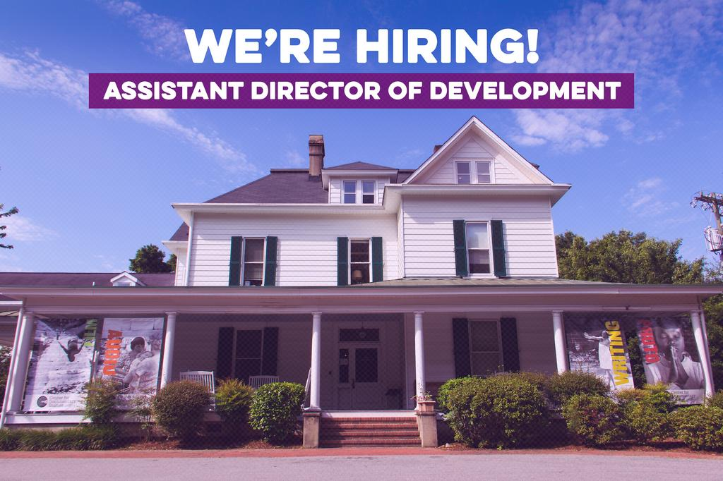 CDS is hiring for an Assistant Director of Development!