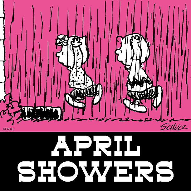 Staying inside all month ☔