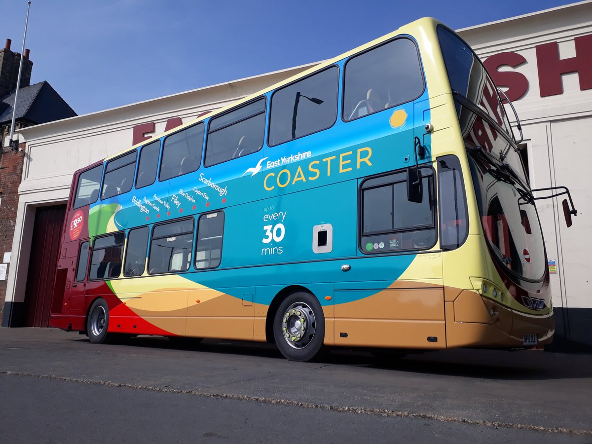 Bat Bus 12 >> East Yorkshire Twitterren Introducing Coaster Our New Brand For
