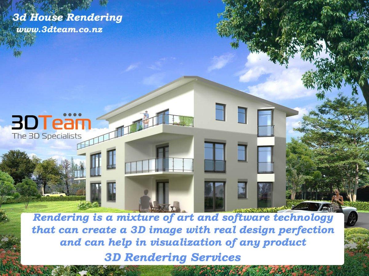 3d house rendering http www 3dteam co nz 3dmodeling