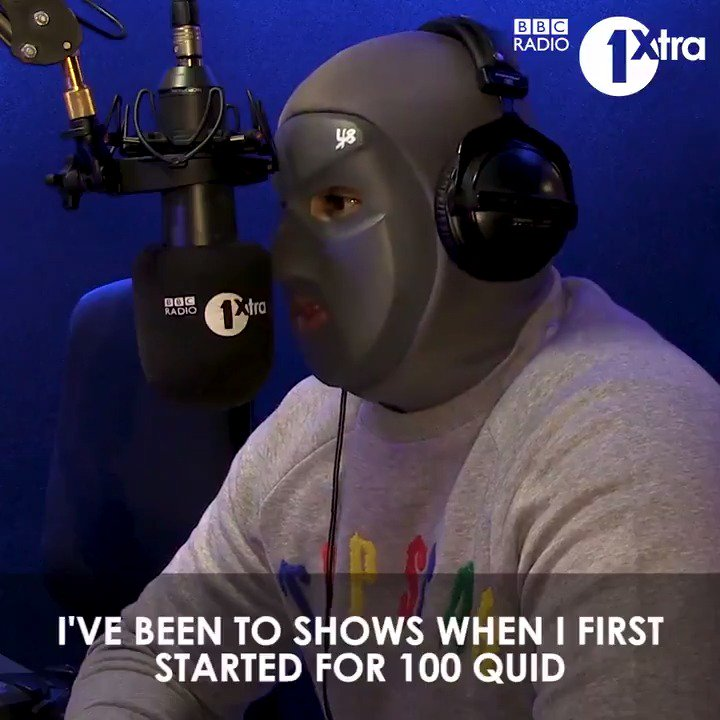 """""""I've gone to shows where there's hardly anyone there""""  @Mhuncho_1 tells @djcharlesy about putting in work to get to where he is today."""
