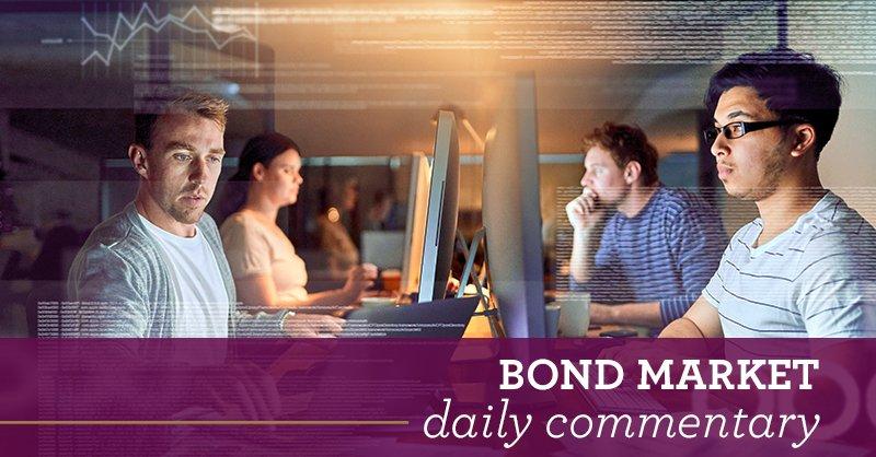 Bond market daily commentary