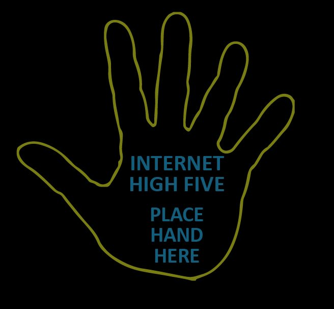 Happiness starts with a high five! Make sure you don't forget to spread the love today! Happy #NationalHighFiveDay!