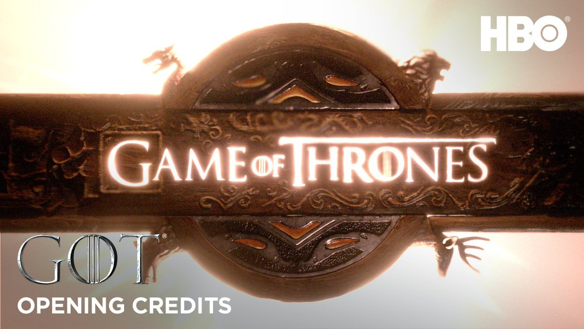 Behold.  The #GoTS8 opening credits are here.