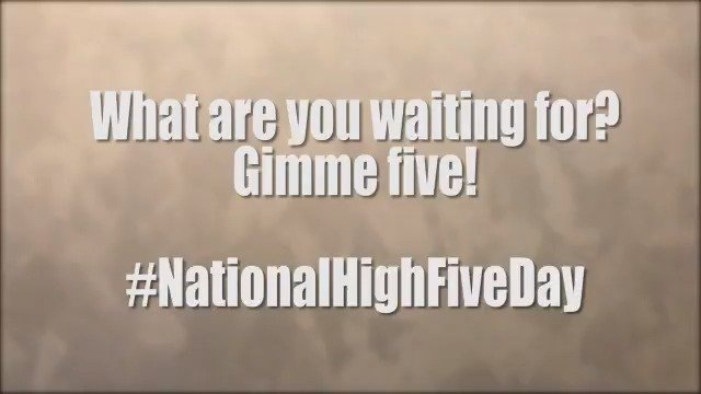 U.S. Dept of Defense's photo on #NationalHighFiveDay
