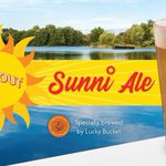 Our NEW & delicious Sunni Ale is now available at all DJ's Dugout locations! We teamed up with @LuckyBucketBrew to create this light, crisp, delicious Blonde Ale with an easy drinkable citrus flavor! Stop by your favorite DJ's location & try it today!