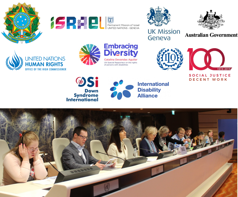 Read our latest blog to see what self-advocates had to say about employment at the United Nations in Geneva on World Down Syndrome Day 2019 https://zurl.co/ETBu  #LeaveNoOneBehind #WDSD19 #WorldDownSyndromeDay