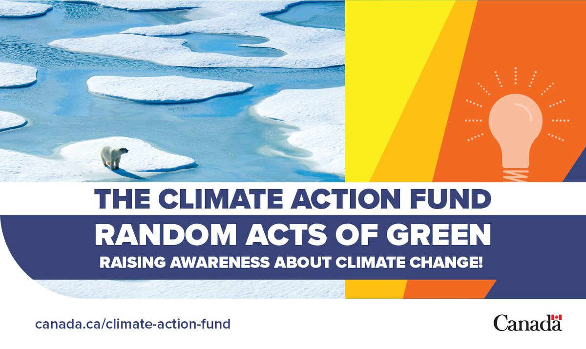 "On behalf of Minister McKenna, Minister Monsef announced up to $200,000 in funding for @RandomActsGreen to launch a #MobileApp that encourages Canadians to participate in ""Acts of Green."" http://ow.ly/sJgZ30otc9u  #ClimateAction"