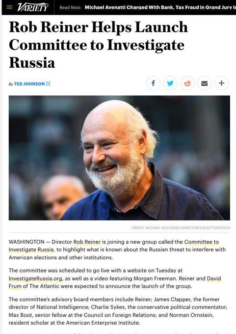 #russiagate Foto