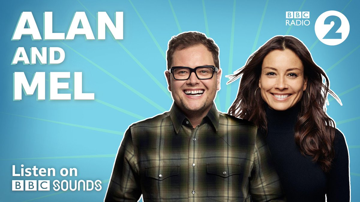 🐰 @AlanCarr and @MsMelanieSykes get Easter Weekend started off right! Big tunes, belly laughs and a visit from @EdGambleComedy.   Listen now on @BBCSounds 👉 https://bbc.in/2KMGIPl