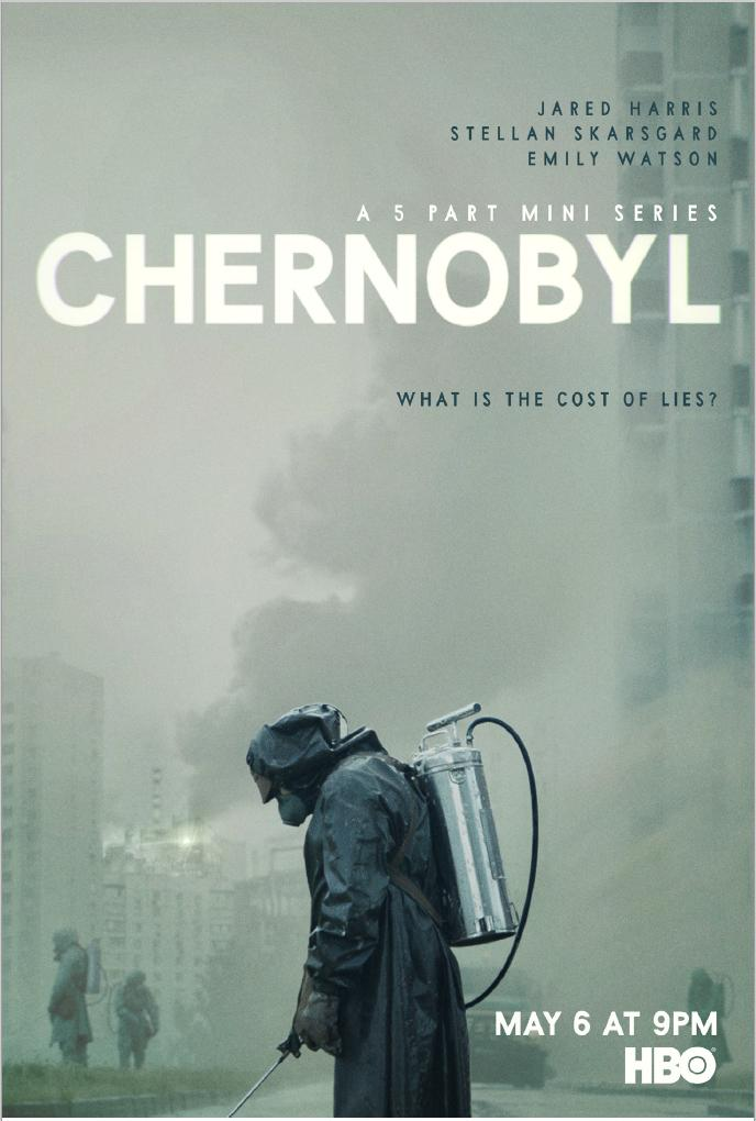 What is the cost of lies?  Introducing the official poster for the 5-part HBO miniseries #ChernobylHBO. Premiering Monday, May 6 at 9PM.<br>http://pic.twitter.com/yaKaK7g0yI