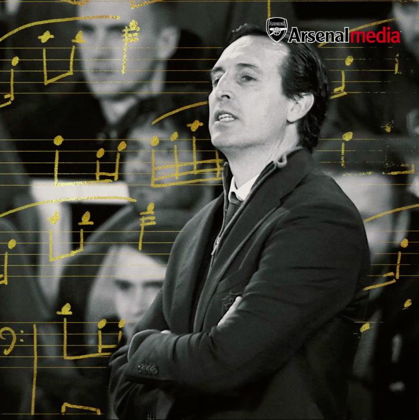 Arsenal FC's photo on Emery