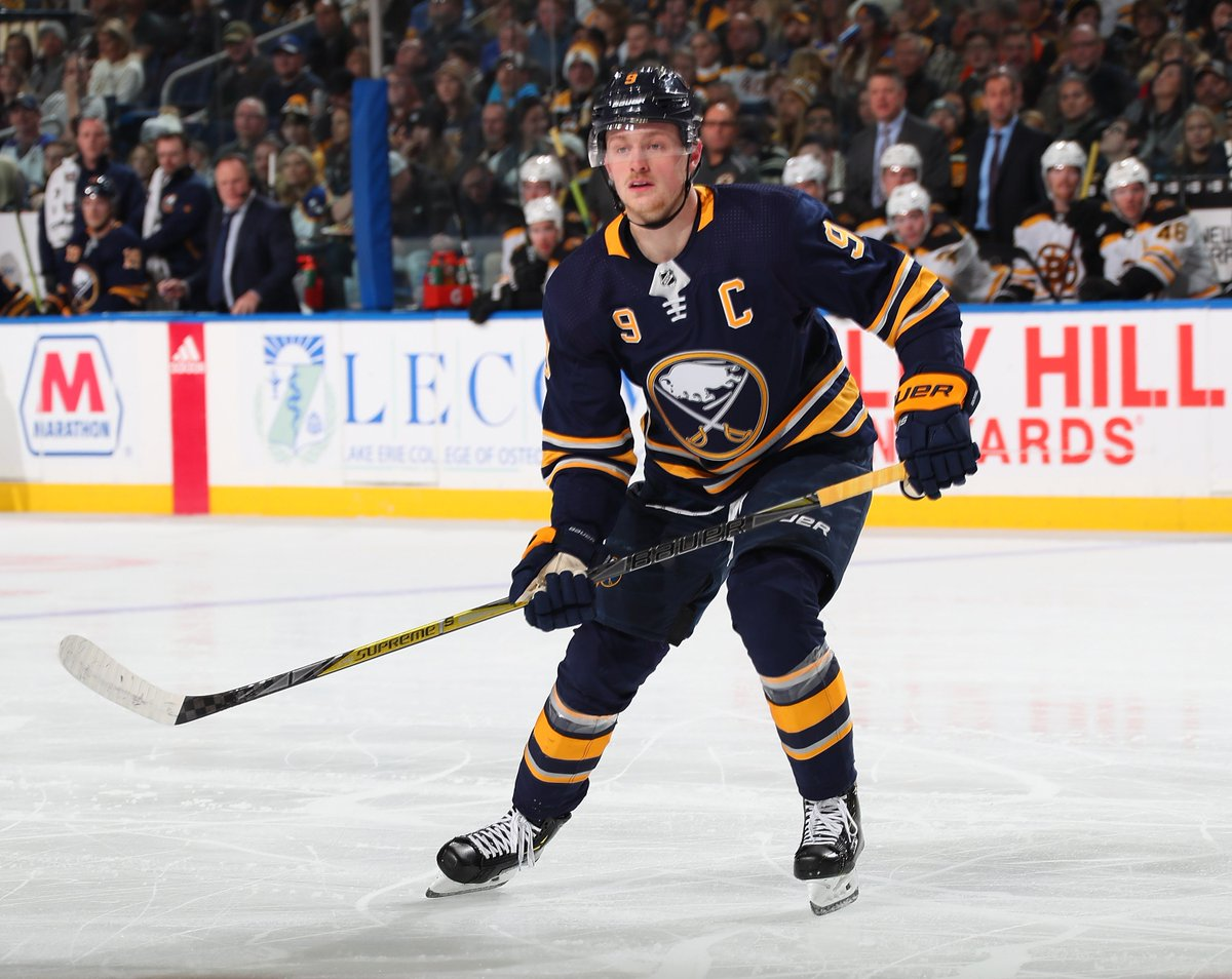 Jack Eichel is one of the first 17 players named to the U.S. Men's National Team that will compete in the 2019 #IIHFWorlds Championship in May.  Congrats @Jackeichel15!