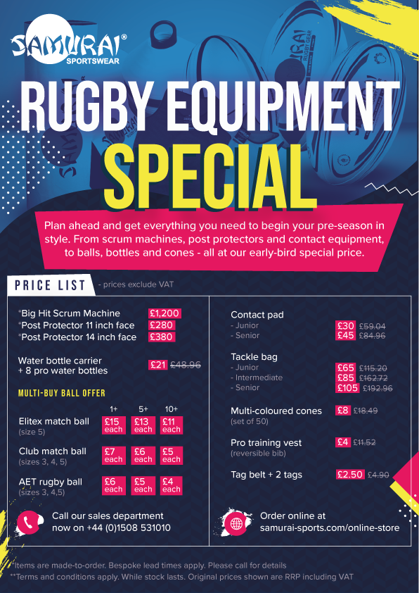 test Twitter Media - Rugby equipment special: Prices slashed across a range of products, from scrum machines to training bibs. Offer includes multi-buy ball specials. Buy select products online:  https://t.co/2Z80VBgfFa … #rugby #rugbykit #teamwear https://t.co/Kn04pocm2O https://t.co/pYibOlrNtD