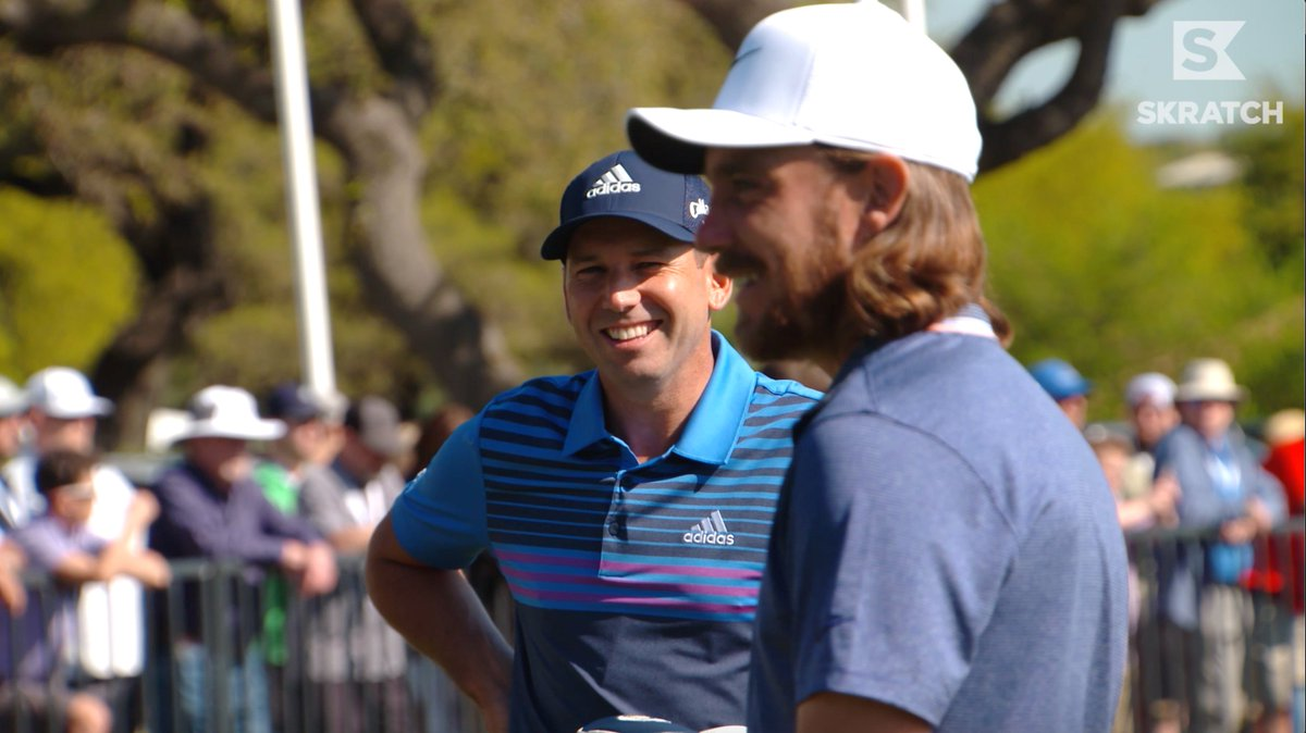 Proving once and for all that teamwork does in fact make the dream work.   @TheSergioGarcia and @TommyFleetwood1 work together on this edition of DIALED IN, presented by @ZurichNA.