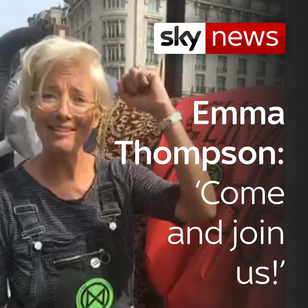 Sky News's photo on Emma Thompson