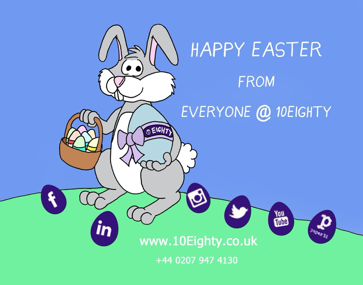 Happy Easter from everyone at 10Eighty!  #Easter #HappyEaster