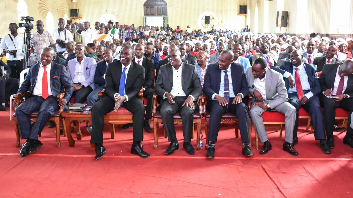 Image result for Images of Ruto in Nyeri AIPCA