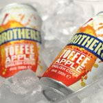 Image for the Tweet beginning: Flavoured cider in cans continues