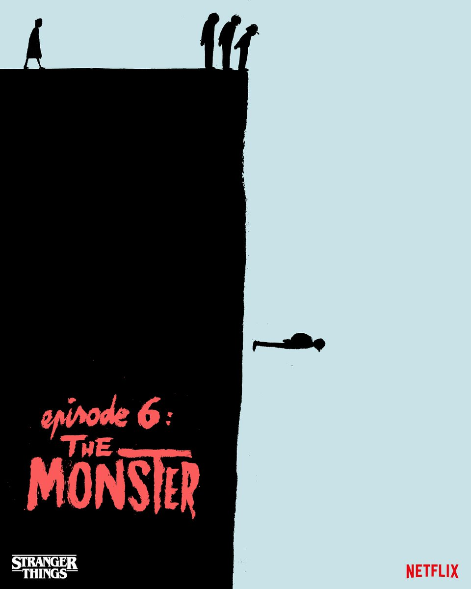 She's our friend and she's crazy! The Monster by Jean Jullien.