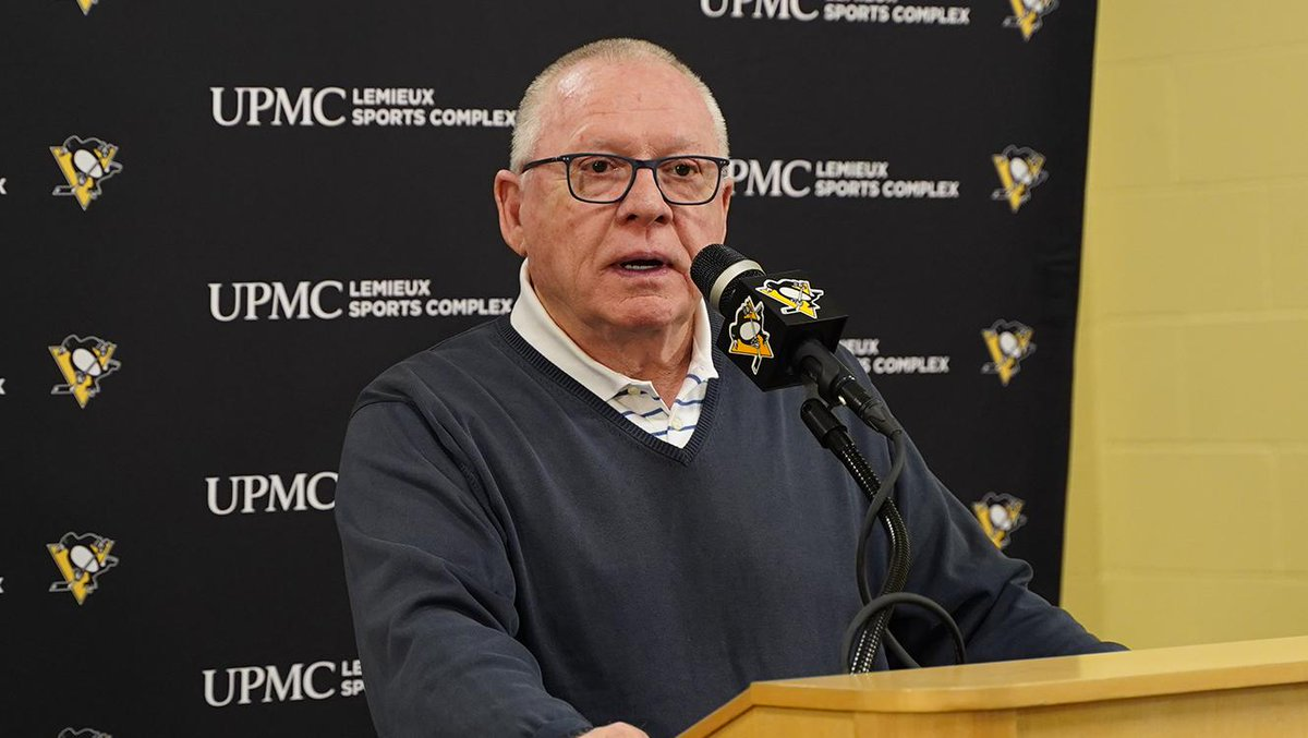 """GM Jim Rutherford: """"I didn't see a point where our guys came together as a team. I don't know if our guys are content - is that a signal that something needs to be changed? We need that eagerness again... The Islanders had that eagerness to win and were determined. We weren't."""""""