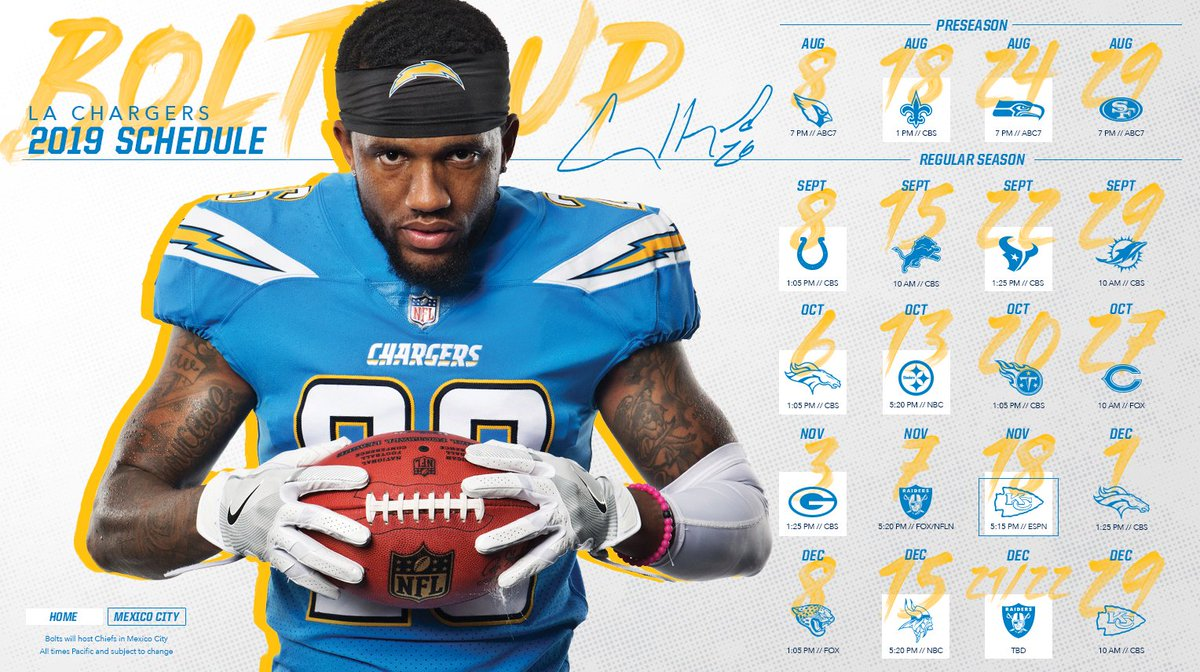 best sneakers 958cd 3575e Los Angeles Chargers on Twitter: