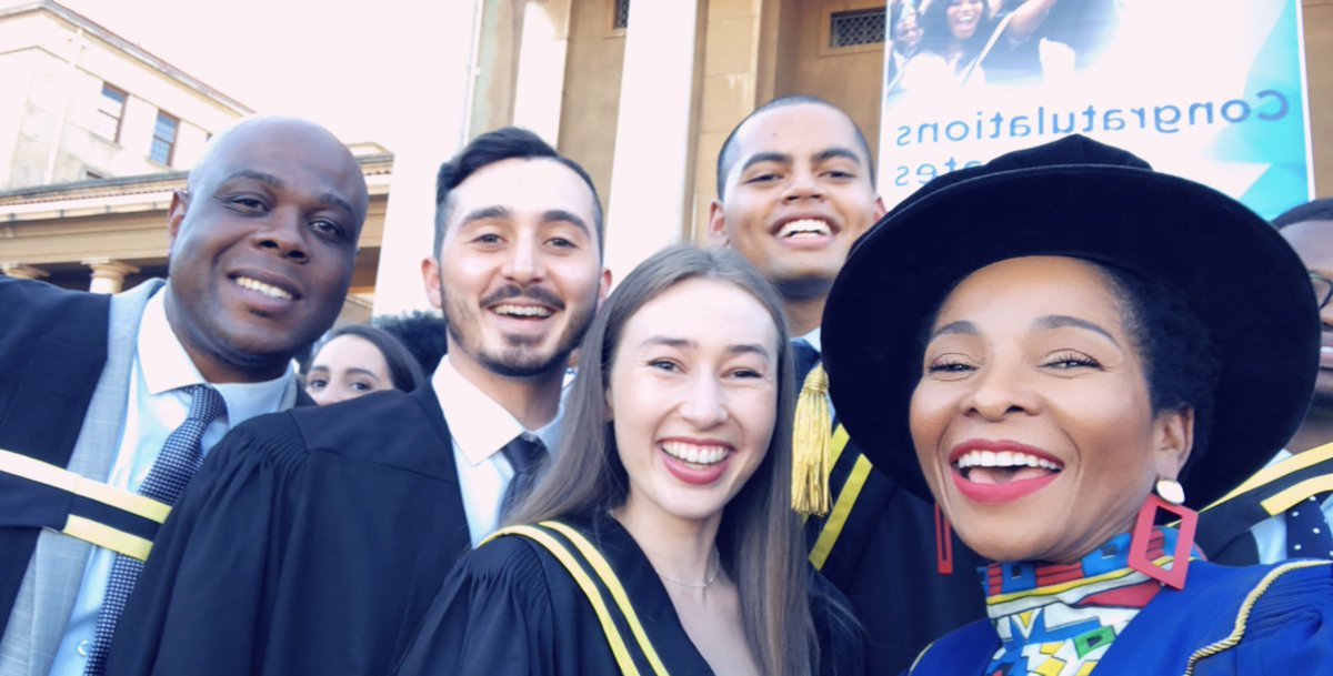 So we end the April @UCTpostgrads graduation season. It was a blast! Congratulations to our graduates!!!! Thank you for being so amazing!  #uctgrad2019 <br>http://pic.twitter.com/zJNqVqXtwC