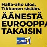 Image for the Tweet beginning: Olen ehdolla eurovaaleissa. Tarvitsemme enemmän